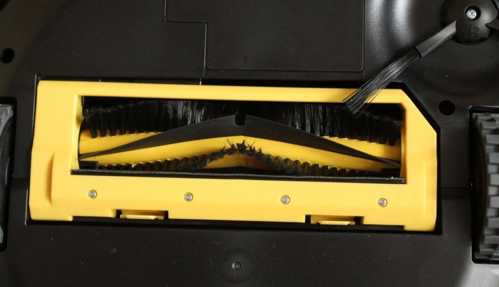Робот пылесос с электрощеткой